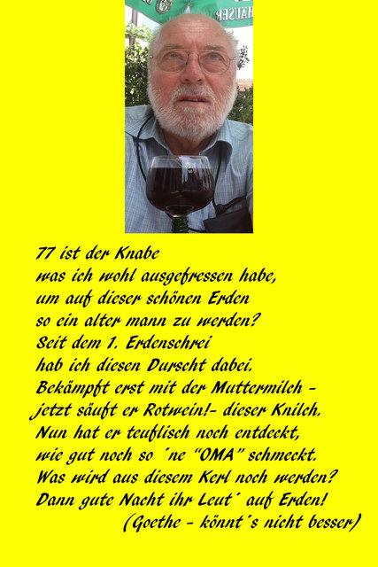 mein 77. Geburtstag - Blog von RCcaptain | spin.de